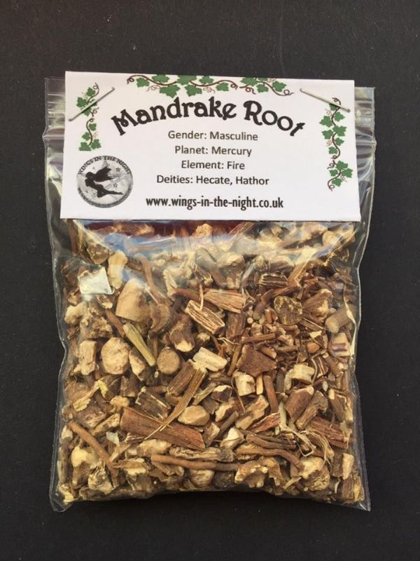 MANDRAKE Dried ROOT (American) 25g